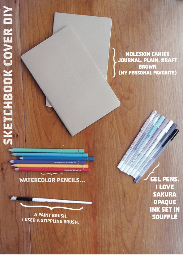 Diy Sketchbook Cover : Diy sketchbook cover