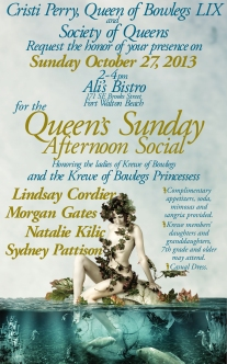 Afternoon Social Invite