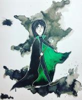 inktober Snape