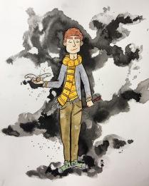 inktober Cedric Diggory