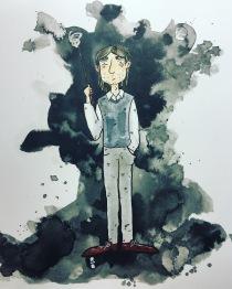 inktober Lupin