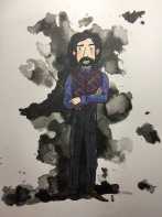 inktober Sirius Black
