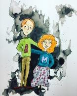 inktober Arthur & Molly