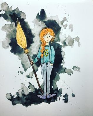 inktober Ginny