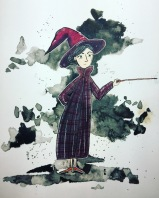 inktober McGonagall