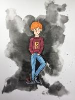 inktober Ron