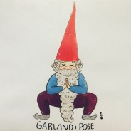 Gnomaste Garland Pose
