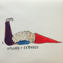 Gnomaste Upward Extended