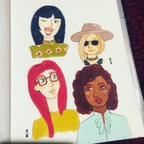 "sketchbook more 'fashion"" ladies"
